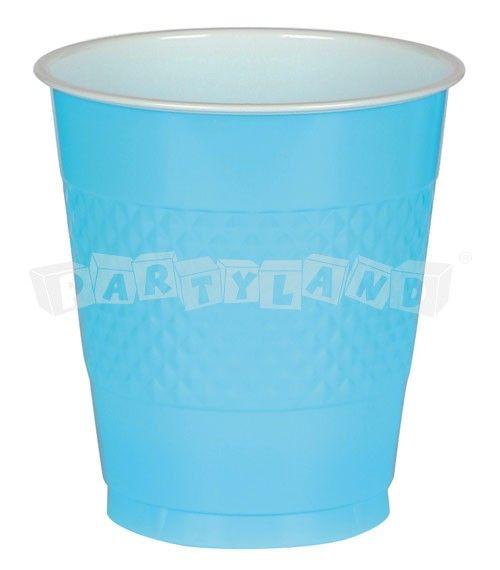 Karibsko modré poháre 10 ks