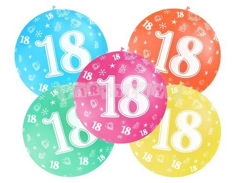 Metrový balón - 18 rokov