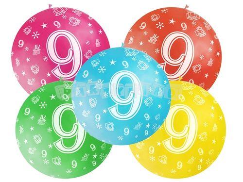 Metrový balón - 9 rokov