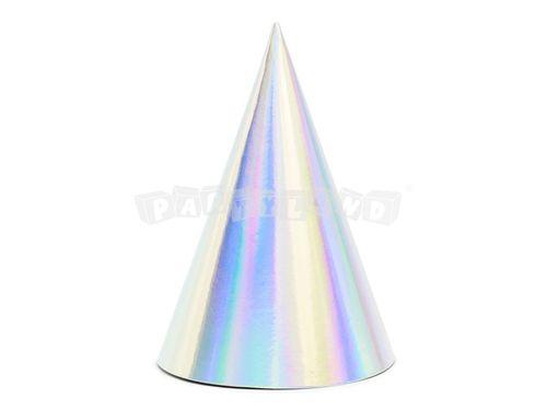Párty klobúčik holografický