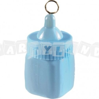 Závažie na balóny - detská fľaša modrá