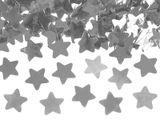 Konfety strieborné hviezdičky 40 cm