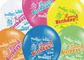 Balóny s nadpismi