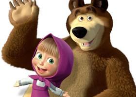 Máša a Medveď párty