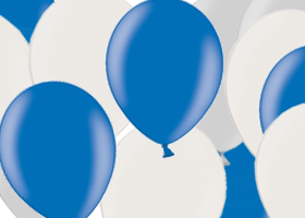 Metalické balony