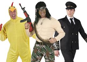 Pánske kostýmy