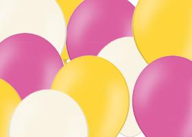 Pastelové balóny
