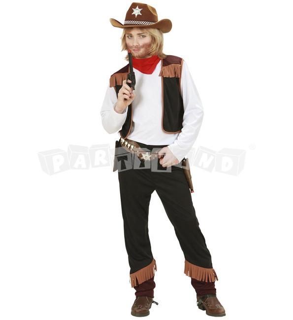 Detský kostým kovboj basic 6b3818572c6