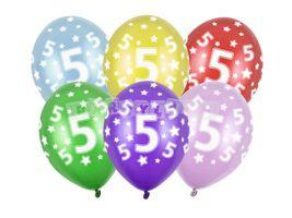 Balón číslo 5