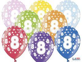 Balón číslo 8