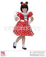Detský kostým Mouse dievča