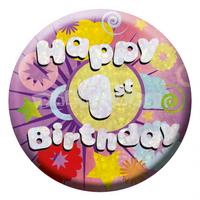 Odznak Happy birthday 1. narodeniny