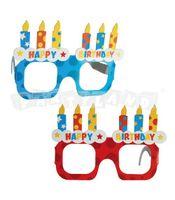 Okuliare Happy Birthday 4ks