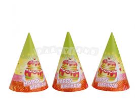 Party čiapky Happy birthday