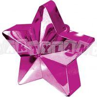 Závažie na balóny - ružová hviezda