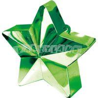 Závažie na balóny - zelená hviezda