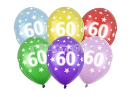 Balóny číslo 60 - 6ks