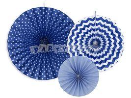 Dekoratívne rozety, námornícka modrá