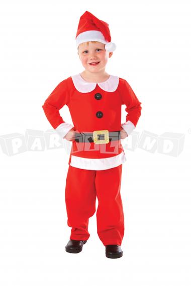 Detský kostým pán Santa