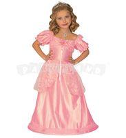 Detský kostým Ružová princezná