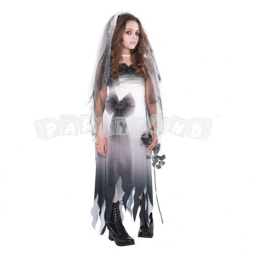 Dievčenský kostým Zombie nevesta