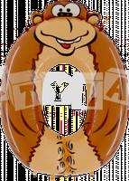 Fóliový balón 0 - Opica