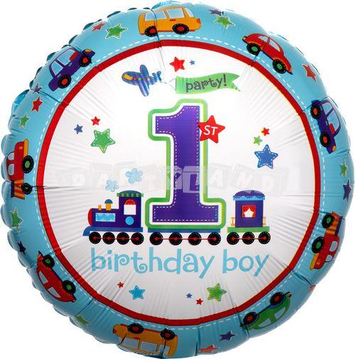 1. narodeniny chlapec 43 cm Fóliový balón
