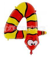 Fóliový balón 4 - Had