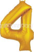 Fóliový balón 4 - Zlatý