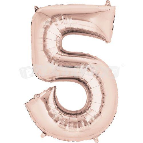 Fóliový balon 5 staroružový 86 cm