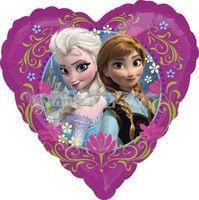 Fóliový balón Frozen srdce