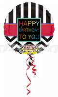 Všetko najlepšie 71 cm - spievajúci fóliový balón
