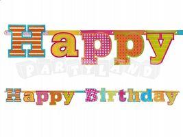 Girlanda Happy Birthday