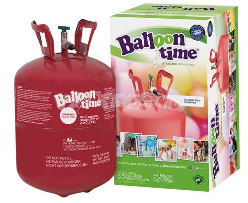 Héliová fľaša na 30 balónov