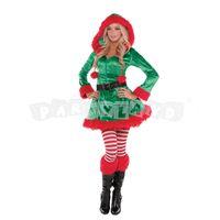 Kostým Elf dámsky Sassy Santa