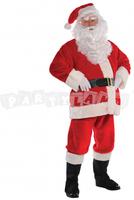 Kostým Santa Claus Plyšový