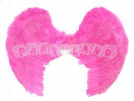 Krídla anjela ružové