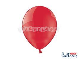 Kryštálový balón - červený