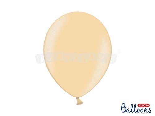Metalický balón - svetlo oranžový