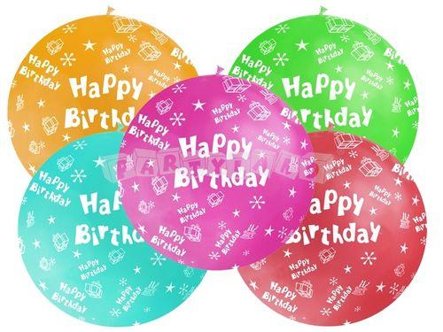 Metrový balón - Happy Birthday