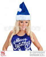 2a4493437 Mikulášska čiapka modrá