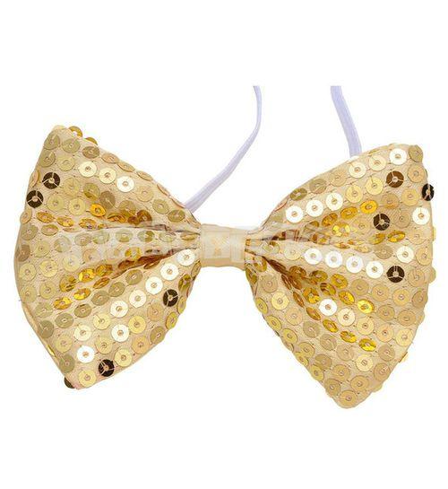 Motýlik zlatý flitrovaný