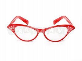 Okuliare Mačacie červené