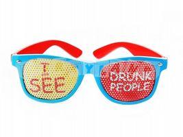 Okuliare Vidím opitých ľudí