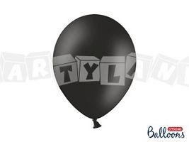 Pastelový balón - čierny