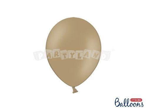 Pastelový balón - kapučínový