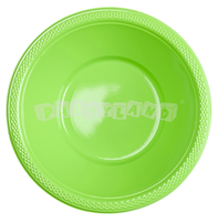 Zelené plastové misky 10 ks