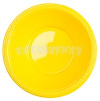 Žlté plastové misky 10 ks