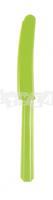 Zelené plastové nože 10 ks