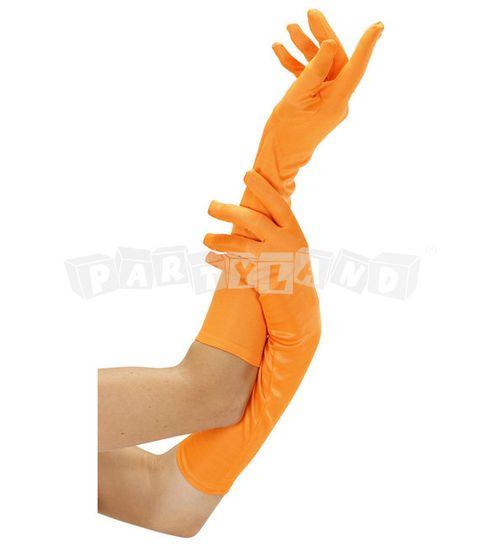 Rukavice Oranžové